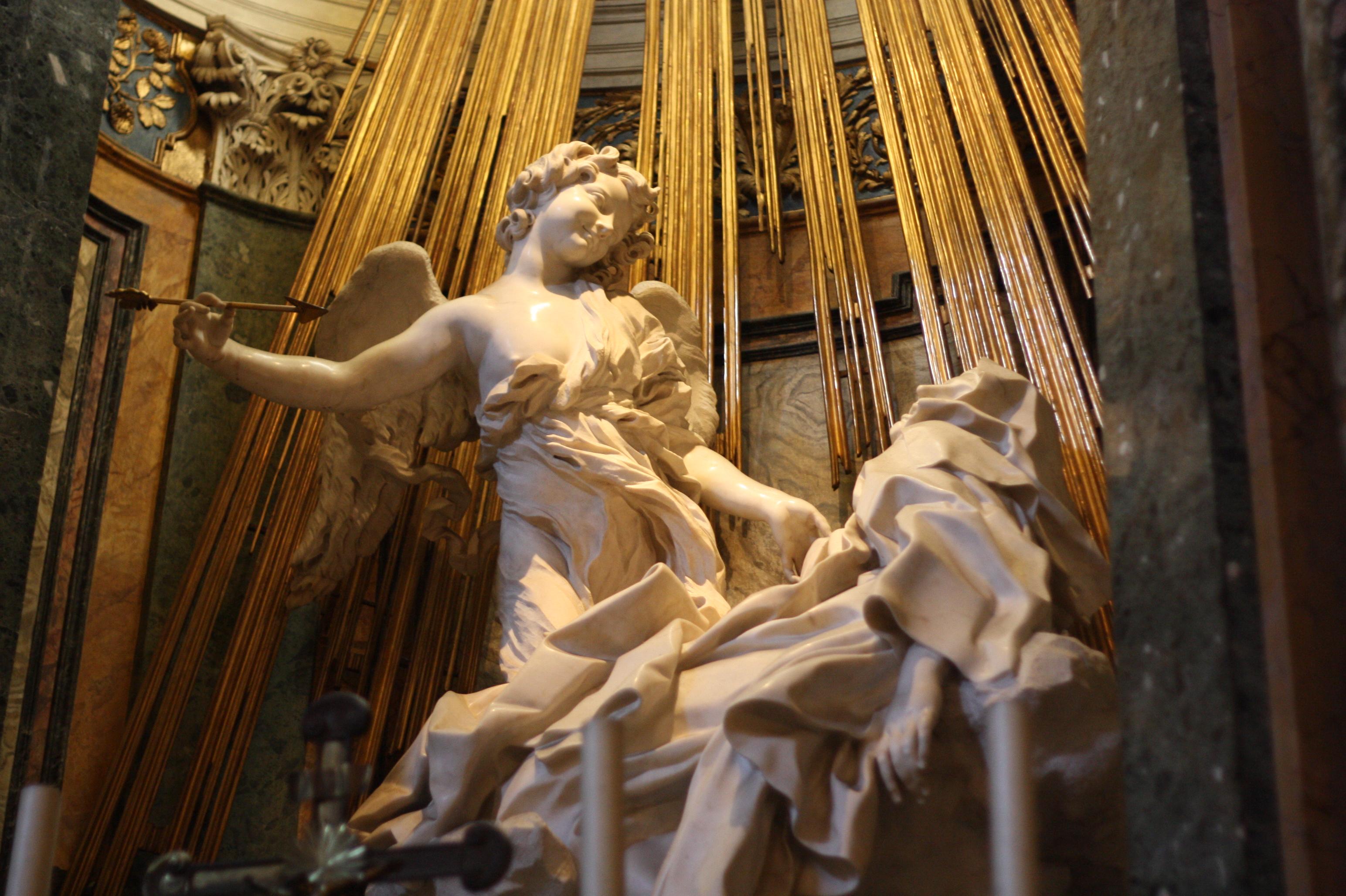 Saint Teresa BerniniBernini St Teresa Painting